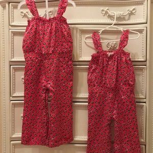 Twin JUICY COUTURE silky heart jumper girls 18-24m